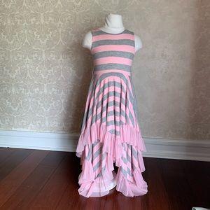 Girls Sharkbite Twirl Dress - size 7
